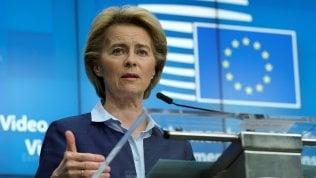 Von der Leyen svela il piano: il 20% sicuramente all'Italia