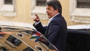 """Renzi: """"Su Atlantia decidiamo con Pd e 5S. Entrino i fondi italiani"""""""