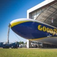 Torna il mito del dirigibile Goodyear
