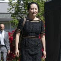"""Lady Huawei, estradizione negli Usa """"legittima"""". Ma per ora resta agli arresti in Canada"""