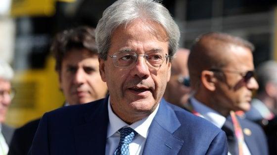 ll commissario europeo per l'Economia, Paolo Gentiloni