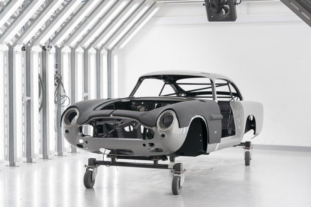 Così rinasce l'Aston Martin di James Bond