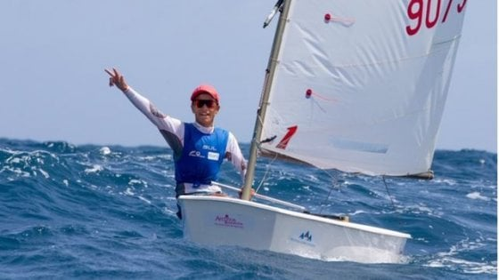 Marco Gradoni, 17 anni, è sempre avanti: a lui l'Oscar della vela 2019
