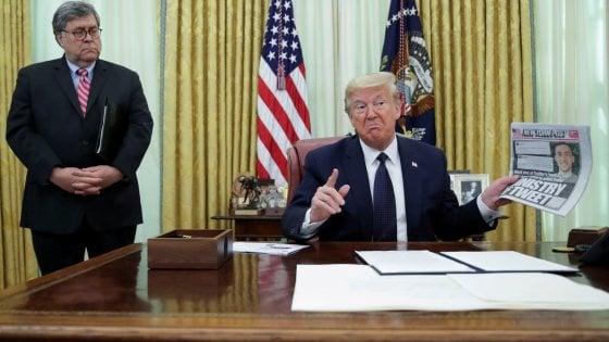 """La vendetta di Trump su Twitter, firmato l'ordine che sospende immunità penale: """"I social potranno essere puniti"""""""