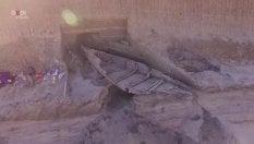 Scoperto in una miniera il relitto di un'antica imbarcazione romana