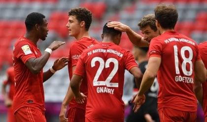 Bayern Monaco a valanga, mani sulla Bundesliga