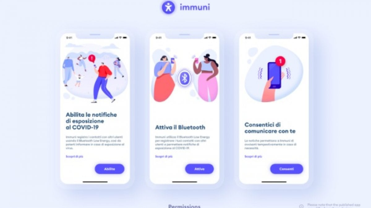 L'app Immuni da oggi si potrà (forse) scaricare. Via libera del Garante