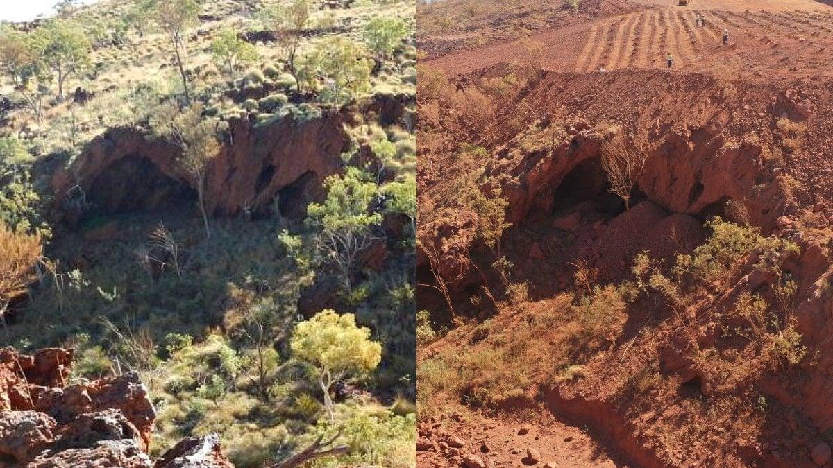 """Australia, colosso minerario fa esplodere le grotte sacre aborigene di 46 mila anni fa: """"Ci scusiamo"""""""