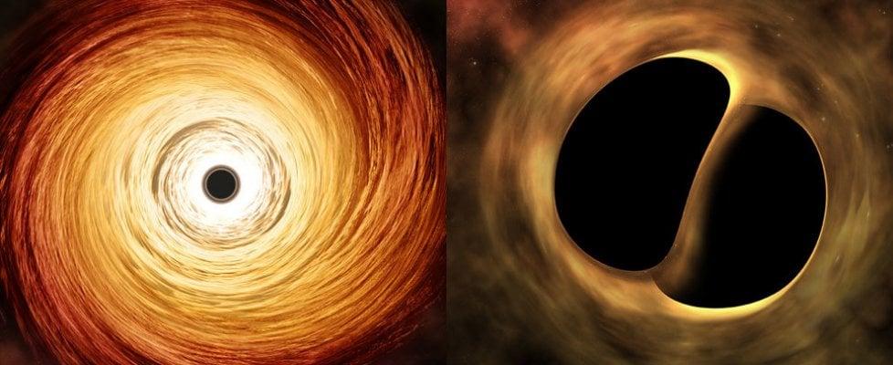 Così crescono i buchi neri, dalla nascita dell'Universo al cosmo vicino