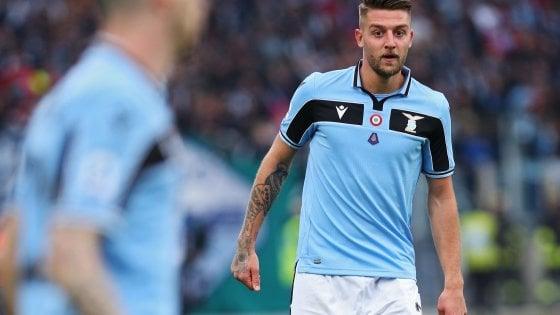 Lazio, Tare: ''Il nuovo Milinkovic? Piuttosto che dirlo mi ammazzo ''