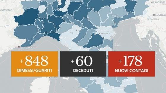 Coronavirus, il bollettino di oggi 1 giugno: solo 178 nuovi positivi, mai così pochi. E la Liguria ha più contagi della Lombardia