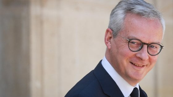 Il ministro francese dell'Economia, Bruno Le Maire