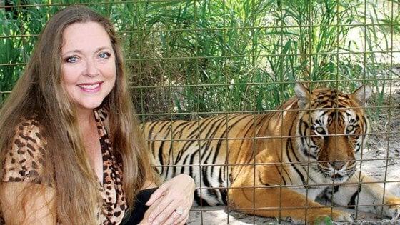 Lo zoo protagonista di 'Tiger King', documentario di Netflix, ora appartiene a Carole Baskin