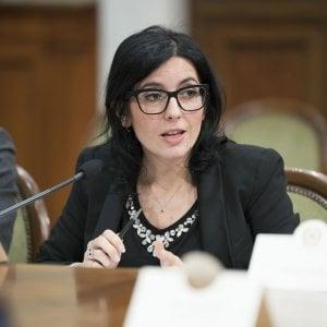 La ministra della Pubblica Amministrazione Fabiana Dadone