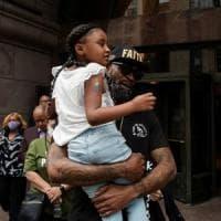 """Usa, la figlia di George Floyd: """"Papà ha cambiato il mondo"""""""