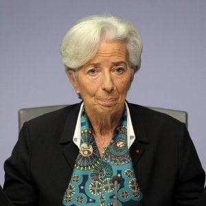 Christine Lagarde, presidente della Bce