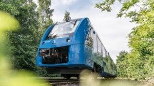 Alstom e Snam: accordo per sviluppo treni a idrogeno in Italia