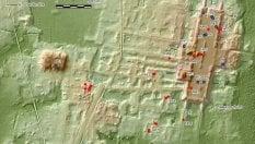 Messico, 'occhi laser' scoprono la più grande struttura monumentale Maya