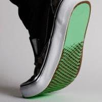 Dall'arte giapponese, un nuovo paio di scarpe antiscivolo