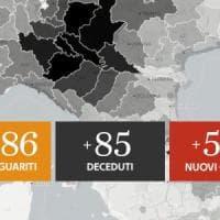 Coronavirus, il bollettino di oggi 5 giugno: 518 nuovi contagi ma 402 sono in Lombardia