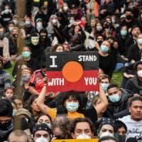 """Morte Floyd, in migliaia in corteo dall'Australia al Giappone: uniti per """"Black Lives..."""