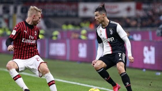 Coppa Italia, niente supplementari: si va direttamente ai rigori