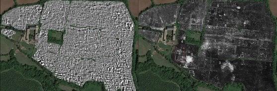 I georadar scovano Falerii Novi, la città romana sepolta nella valle del Tevere