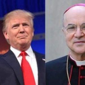L'ex nunzio a Washington Viganò elogia Donald Trump