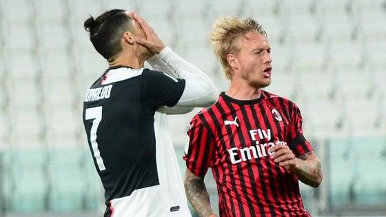 Coppa Italia, Juventus-Milan 0-0: Ronaldo sbaglia un rigore ma i bianconeri volano in finale