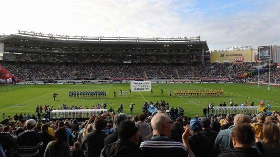 Rugby, in Nuova Zelanda addio porte chiuse: 43mila persone per Blues-Hurricanes