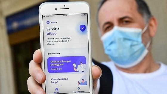 La app anti pandemia Immuni vicina ai tre milioni di download