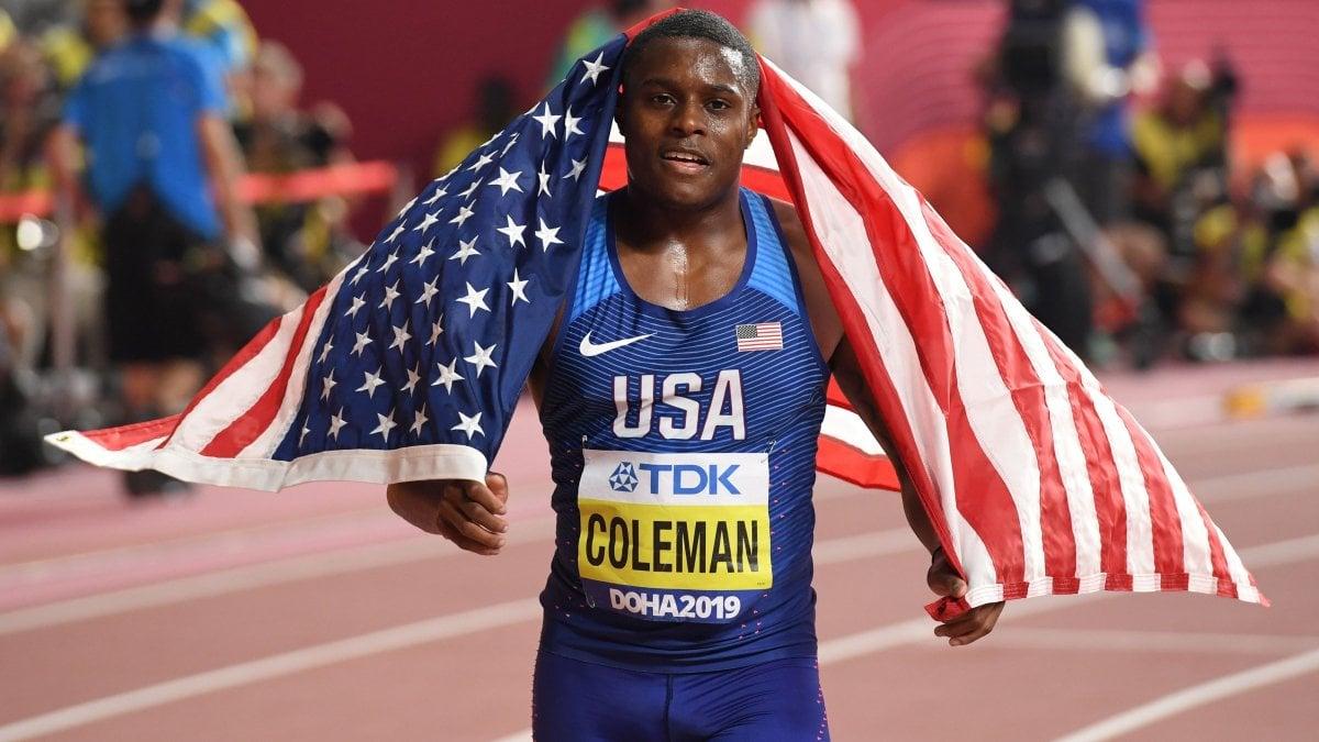 Atletica: terzo test antidoping saltato, Coleman sospeso. Ora rischia due anni di stop