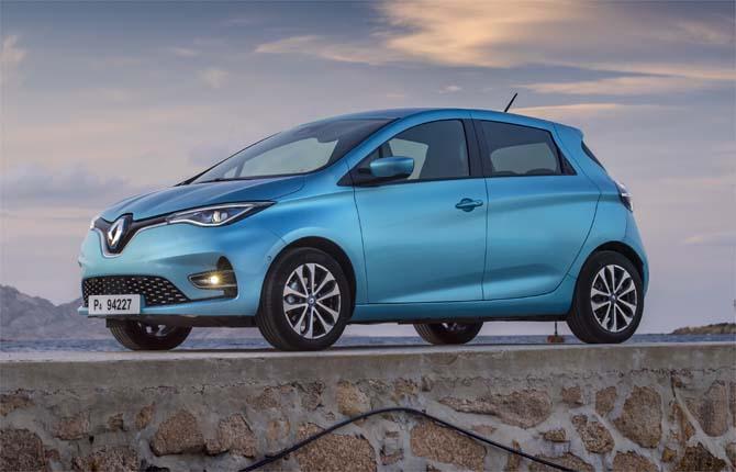 Renault Zoe, tre generazioni elettriche di successi