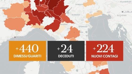 Coronavirus, il bollettino di oggi 21 giugno: 24 le vittime, nuovo minimo. 224 nuovi contagi