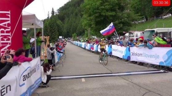 Ciclismo, Roglic apre col botto: suo il campionato sloveno