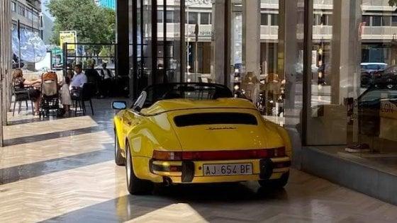 Il caso della Porsche gialla diventa oggetto di studio all'università