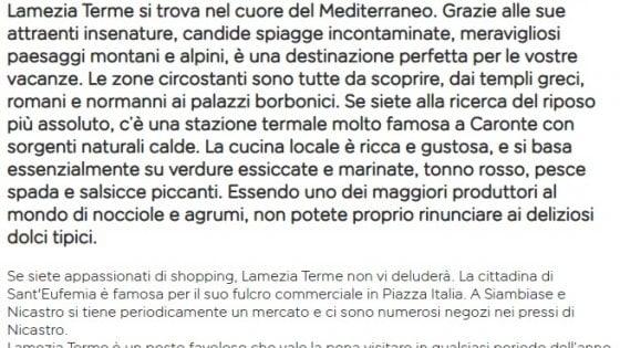 """""""In Calabria pochi turisti per mafia e terremoti"""", Easyjet nella bufera per lo spot che indigna sui social"""