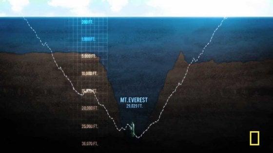 Hanno trovato tracce di mercurio nella Fossa delle Marianne