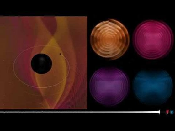 Osservata la fusione tra un buco nero e un oggetto misterioso