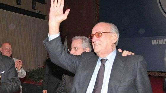 Morto Alfredo Biondi, fu ministro della Giustizia durante il primo governo Berlusconi