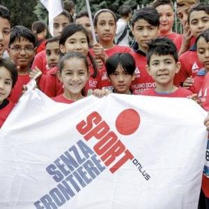 """Sport, anche lui può essere """"Senza Frontiere"""", capace di includere e integrare soprattutto i bambini"""