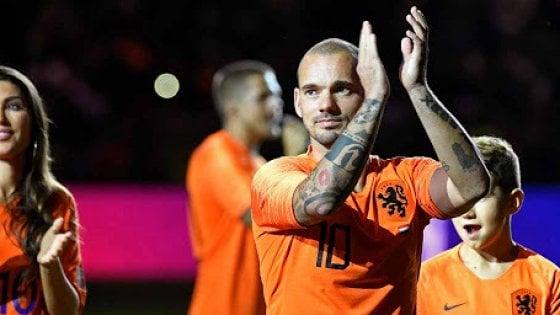 """Sneijder: """"Al Real Madrid stavo affondando per colpa della vodka"""""""