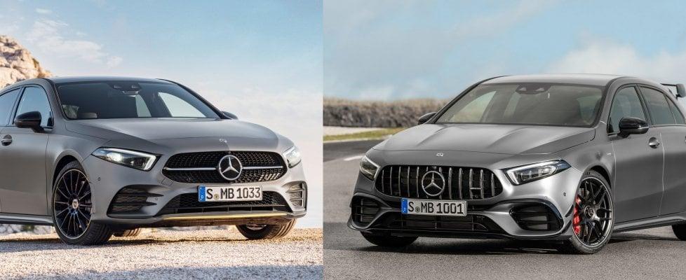 Ibrida o AMG, la doppia anima della Mercedes Classe A