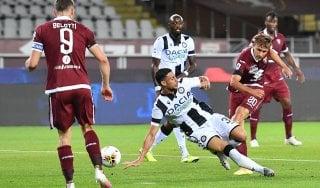 Udinese, stop molto lungo per Mandragora: confermata la rottura del crociato