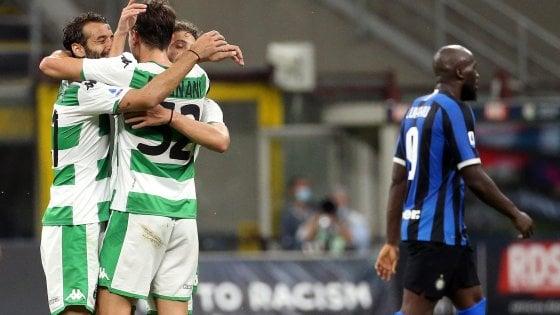Inter-Sassuolo 3-3, i nerazzurri abbandonano i sogni scudetto