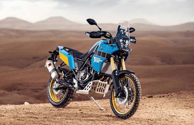 Yamaha Ténéré 700 Rally Edition, voglia di avventura