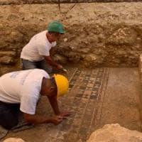 Sardegna, a Porto Torres i lavori per il gas fanno scoprire un mosaico romano