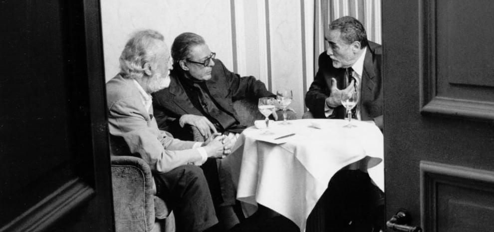 Mastroianni e Gassman: la grande vecchiaia