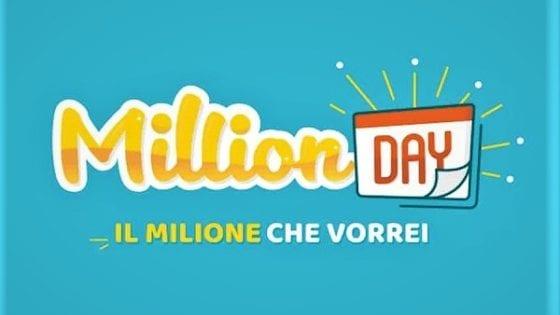 Million Day, l'estrazione di sabato 27 giugno
