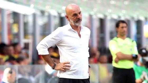 """Milan, Pioli: """"Compatti dall'inizio alla fine, vittoria meritata"""""""
